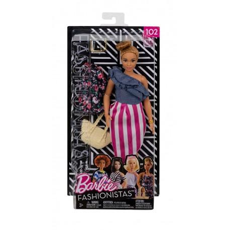 Barbie Fashionistas 102 Doll & Fashions - Curvy