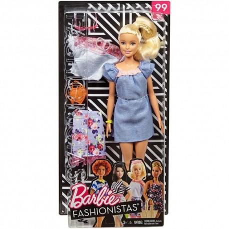 Barbie Fashionistas 99 Doll & Fashions - Original