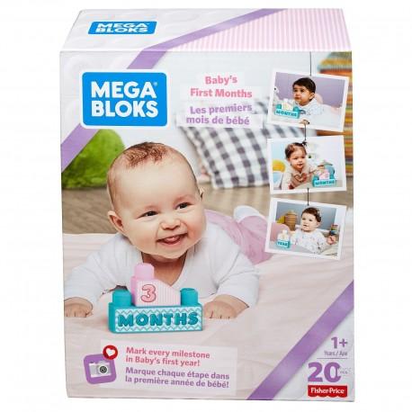 Mega Bloks Baby's 1st Blocks (Pink)
