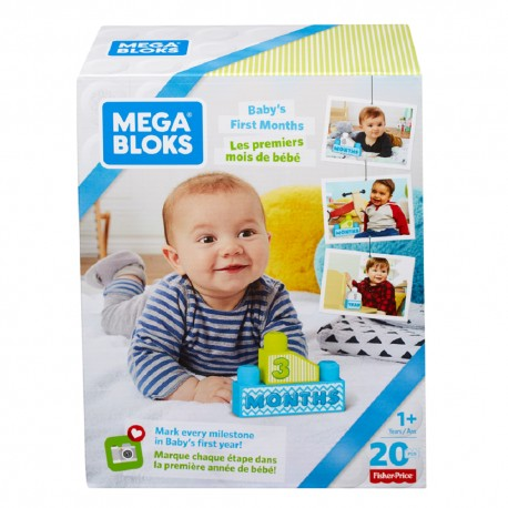 Mega Bloks Baby's 1st Blocks (Blue)