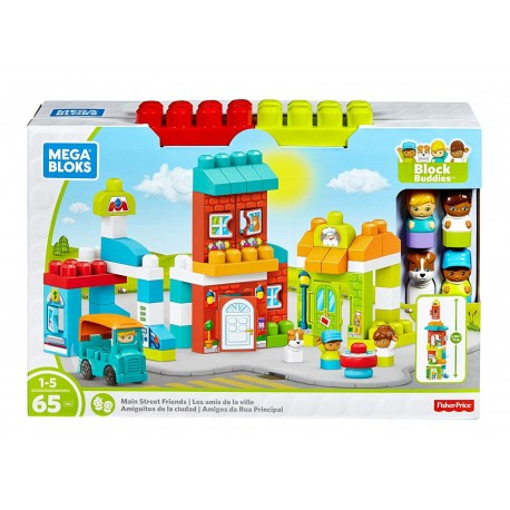 Mega Bloks Storytelling Main Street Friends