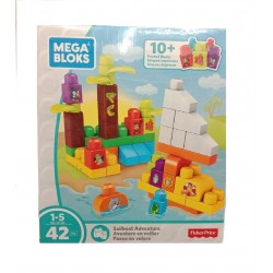 Mega Bloks Building Basics Sailboat Adventure