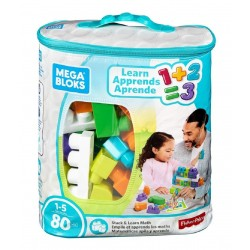 Mega Bloks Building Basics Stack & Learn Math