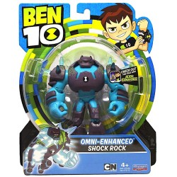 Ben 10 Omni Enhanced Shock Rock Action Figure 5.5inch