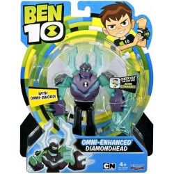Ben 10 Omni-Enhanced Diamondhead Basic Action Figure