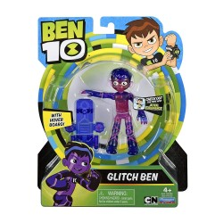Ben 10 76129 Glitch Basic Figure, Multicolor