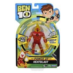 Ben 10 Power Up Deluxe Action Figure - Heatblast