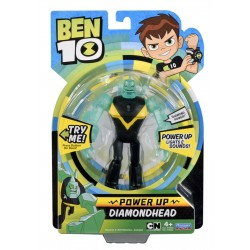 Ben 10 Power Up Deluxe Action Figure - DiamondHead