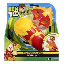 Ben 10 Transform-N-Battle Role play set - HeatBlast