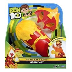 Ben 10 Transform-N-Battle Role play set - HeatBlast