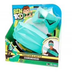 Ben 10 Transform-N-Battle Role play set - Diamond Head
