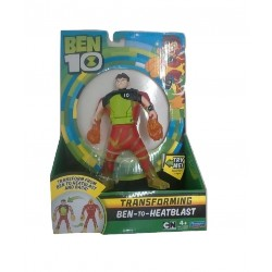 Ben 10 Ben To Alien Transforming Figure - Ben-to-HeatBlast