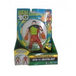 Ben 10 Ben To Alien Transforming Figure - Ben-to-HeatBlast