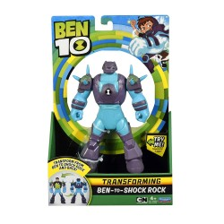 Ben 10 Ben To Alien Transforming Figure - Ben-to-Shock Rock