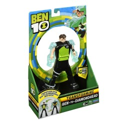 Ben 10 Ben To Alien Transforming Figure - Ben-to-DiamondHead
