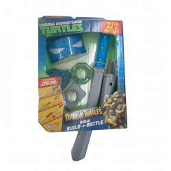 Teenage Mutant Ninja Turtles Build N Battle Leonardo Role Play