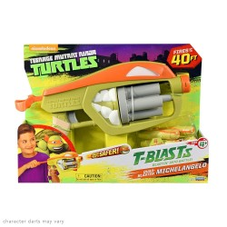 Teenage Mutant Ninja Turtles T-Blasts Quad Blaster Michelangelo's Blaster w/darts