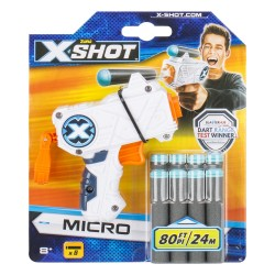X-Shot Excel Micro Foam Dart Blaster (8 Darts)