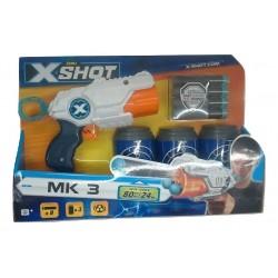 X-Shot Excel MK 3 (3 Cans & 8 Darts)