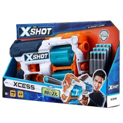 X-Shot Excel Xcess TK-12 (12 Darts, 8 Discs)