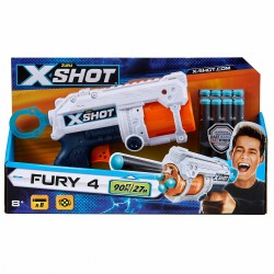 X-Shot Excel - Fury 4 (8 Darts)