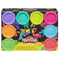 Play Doh 8-Pack Neon Non-Toxic Modeling Compound with 8 Colors