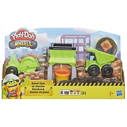 Play Doh Wheels Gravel Yard Construction Toy