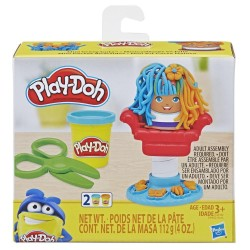Play Doh Mini Classics Crazy Cuts Barbershop Toy with 2 Non-Toxic Colors