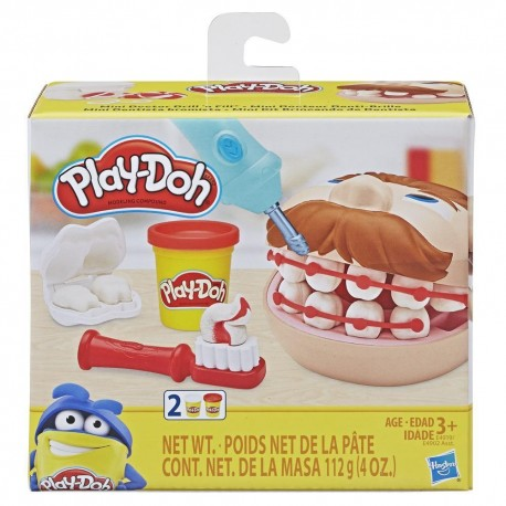 Play Doh Mini Doctor Drill 'n Fill Dentist Toy with 2 Non-Toxic Colors
