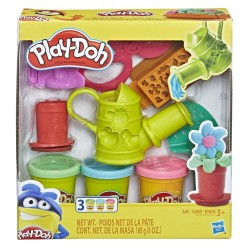 Play Doh Growin' Garden Toy Gardening Tools Set for Kids with 3 Non-Toxic Colors