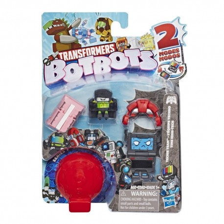 Transformers BotBots Toys Series 1 Techie Team 5-Pack - Mystery 2-In-1 Figures
