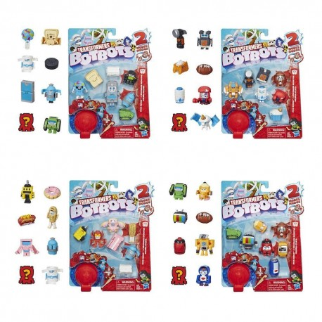 Transformers BotBots Toys Series 1 Jock Squad 8-Pack - Mystery 2-In-1 Figures