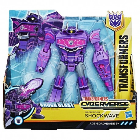 Transformers Cyberverse Ultra Class Deception Shockwave