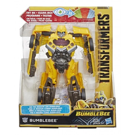 Transformers Bumblebee Mission Vision Bumblebee Action Figure - Movie-Inspired Toy