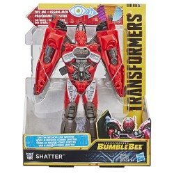 Transformers Toys Bumblebee Movie Mission Vision Shatter Action Figure