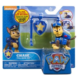 Paw Patrol Action Pack Pup & Badge Asst - Chase