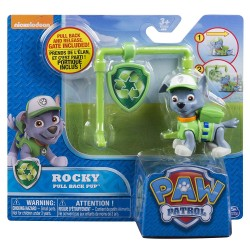 Paw Patrol Action Pack Pup & Badge Asst - Rocky