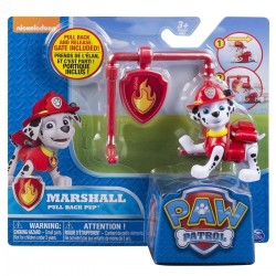 Paw Patrol Action Pack Pup & Badge Asst - Marshall