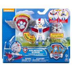 Paw Patrol Air Rescue Pack Pup and Badge Asst - Ryder
