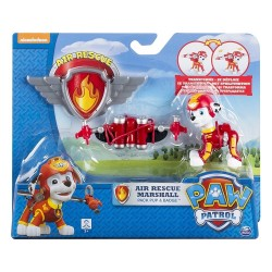 Paw Patrol Air Rescue Pack Pup and Badge Asst - Marshall