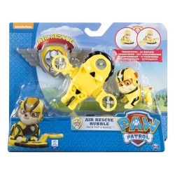 Paw Patrol Air Rescue Pack Pup and Badge Asst - Rubble