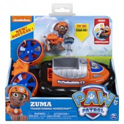 Paw Patrol Basic Vehicle W/Pup - Zuma Transforming Hovercraft