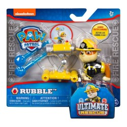 Paw Patrol Hero Pup Ultimate Rescue Water Cannon Series - Rubble
