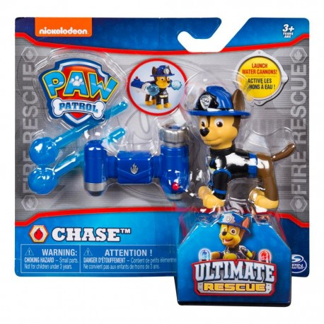 Paw Patrol Hero Pup Ultimate Rescue Water Cannon Series - Chase