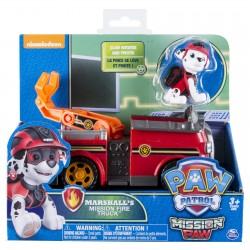 Paw Patrol Themed Vehicle - Marshall's Mission Fire Truck