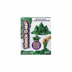 Kinetic Sand Shimmering Gem Sand 1lb (454g) Asst - Green