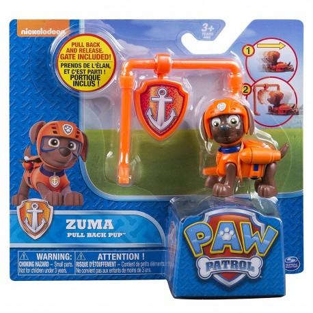 Paw Patrol Action Pack Pup & Badge Asst - Zuma