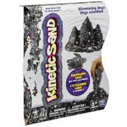Kinetic Sand Shimmering Gem Sand 1lb (454g) Asst - Black