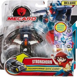 Turning Mecard Stronghorn Deluxe Mecardimal Figure