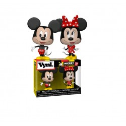 Funko Pop! Vynl: Disney - Mickey & Minnie - 2pk